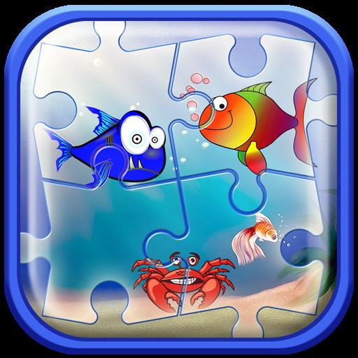 海洋拼圖為孩子 解謎 App LOGO-硬是要APP
