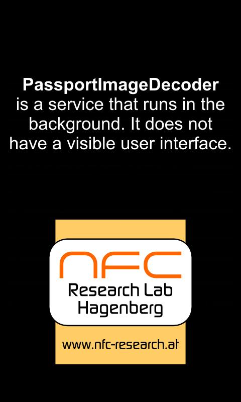 PassportImageDecoder - screenshot