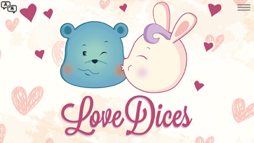 Love Dices Bunny and Teddy