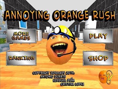 The Annoying Orange Rush NOADS