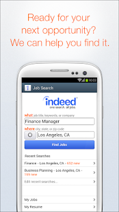 Download Indeed Job Search For PC Windows and Mac apk screenshot 1
