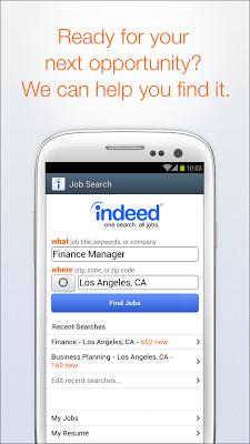 Indeed Job Search - screenshot