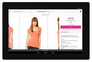 Screenshot of Showroomprive
