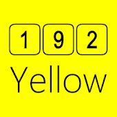 192C Yellow Icon Pack