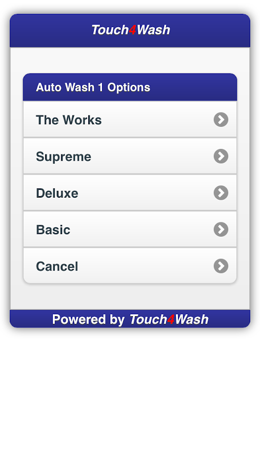 Touch4Wash- screenshot