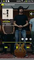 Screenshot of CloudAround Music Player