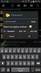 AndroZip™  Pro File Manager - screenshot thumbnail