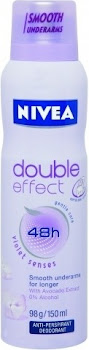 Nivea Double Effect Anti Perspirant Deodorant Spray - 150ml