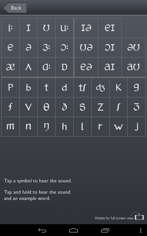 Sounds: Pronunciation App FREE: captura de tela