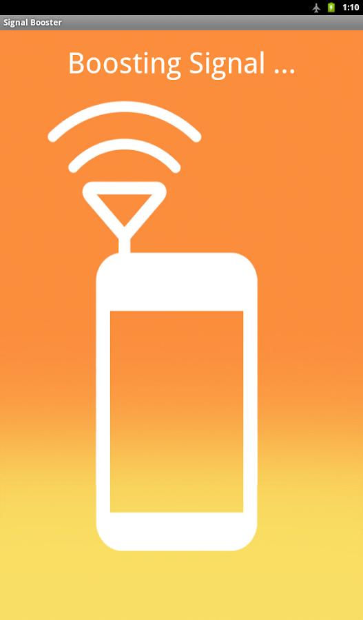 Signal Booster - screenshot