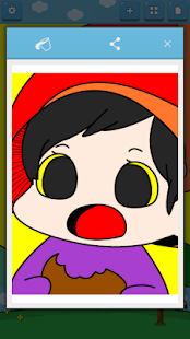 Kids Coloring (Vegetable elf)- screenshot thumbnail