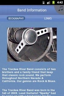 Truckee River Band - screenshot thumbnail