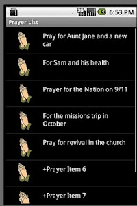 Prayer Tracker screenshot 1