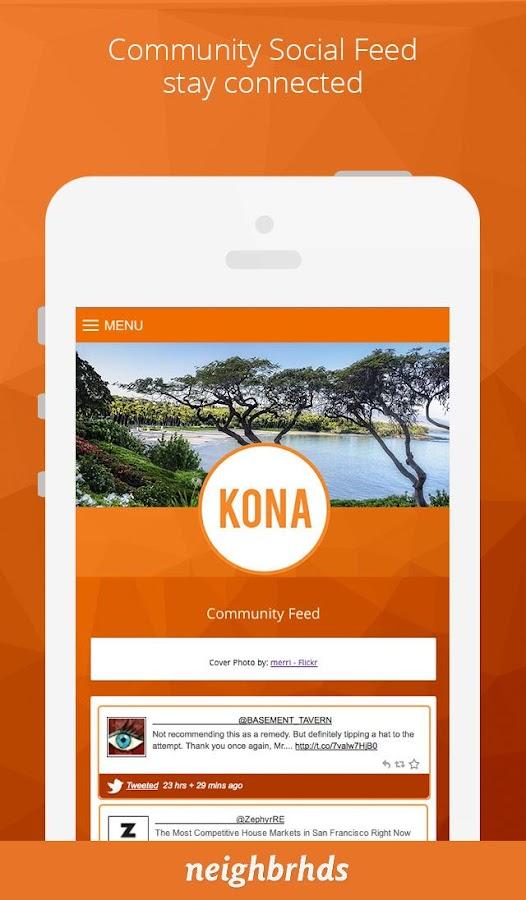 Screenshots of Kona for iPhone