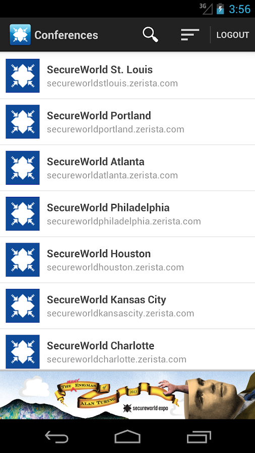 SecureWorld - screenshot