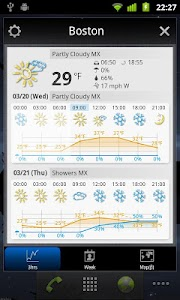 World Weather Clock Widget v6.047
