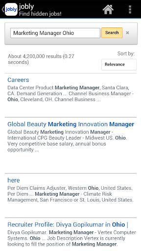 【免費生產應用App】jobly - Find Unadvertised Jobs-APP點子