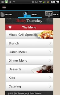 Ruby Tuesday- screenshot thumbnail