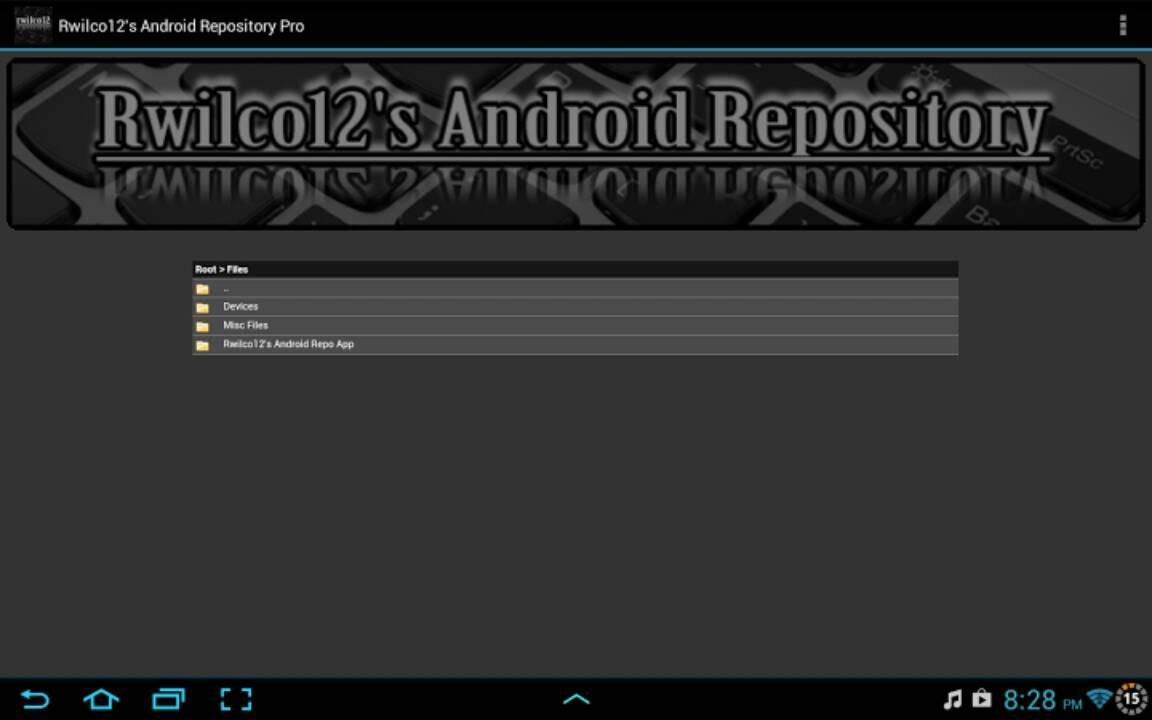 Rwilco12's Android Repo Pro - screenshot
