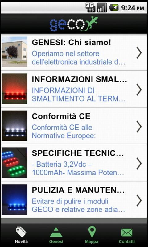 GECO Luce - screenshot