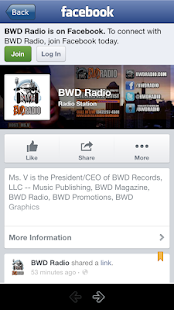 BWD Radio- screenshot thumbnail
