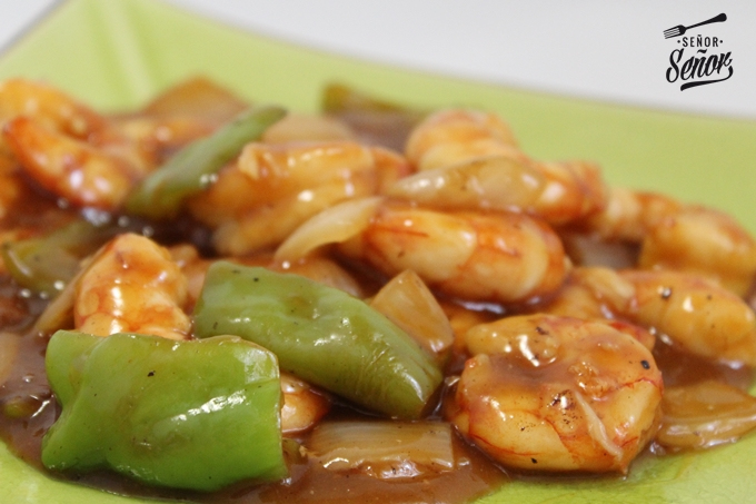 Chinese-Style Spicy Shrimp Recipe