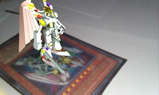 [Yu-Gi-Oh! Dueling AndroDisc] Screenshot 1