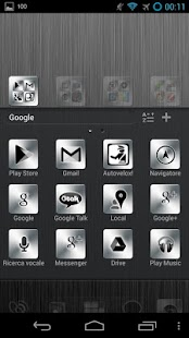 Dark Metal GO Launcher EX - screenshot thumbnail