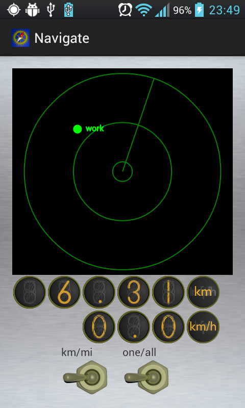 retro GPS- screenshot