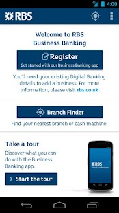 RBS Business Banking- screenshot thumbnail