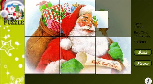 Christmas Santa Picture Puzzle