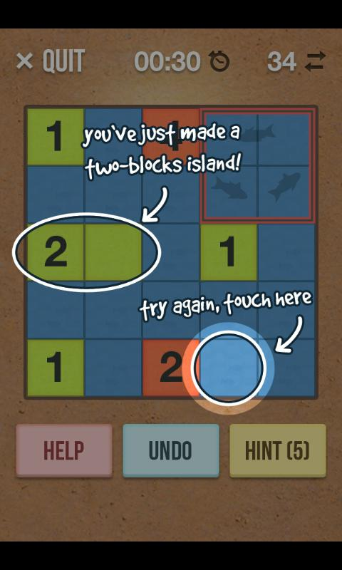 Number Island - Puzzle Game - screenshot
