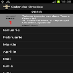 Calendar Crestin Ortodox 2014