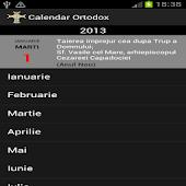 Calendar Crestin Ortodox 2015