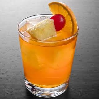 Bermuda Rum Swizzle.