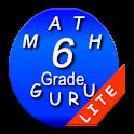 Sixth Grade Mathematics Guru icon