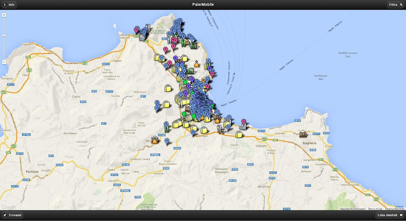 PalerMobile- screenshot
