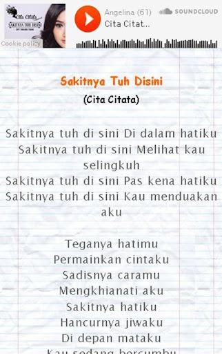 Lirik Lagu Dangdut Asyik