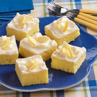 Lemon Sheet Cake.