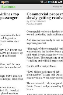 The Dallas Morning News - screenshot thumbnail
