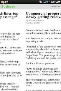 The Dallas Morning News Screenshot 7