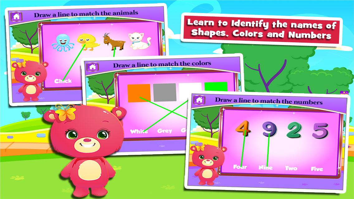 Bears' Fun Kindergarten Games- screenshot