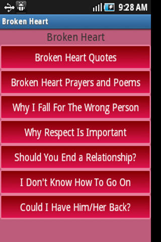 My Broken Heart Collection - Android Apps on Google Play