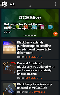 CrackBerry — The App! - screenshot thumbnail