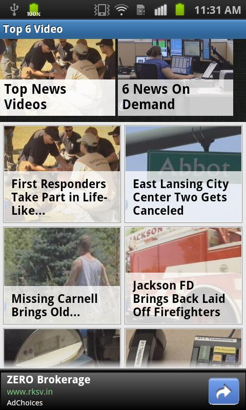WLNS TV 6 Lansing - Jackson - screenshot