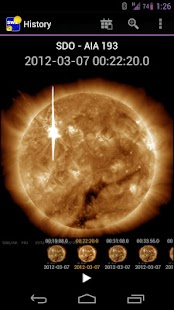 NASA Space Weather- screenshot thumbnail