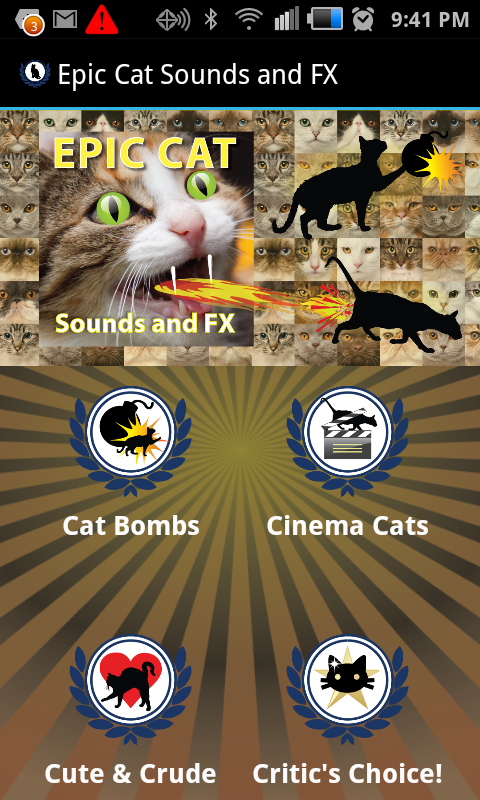 Epic Cat Sounds and FX- screenshot