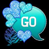 GO SMS - Hearts Ocean Tiger