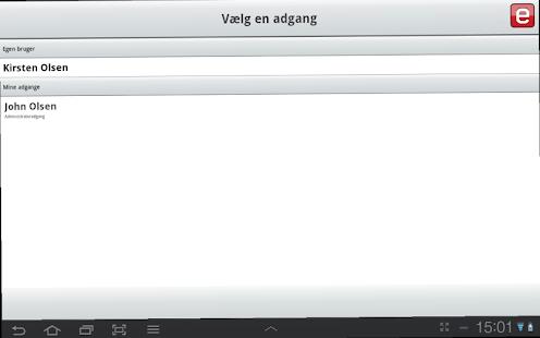 e-Boks.dk- screenshot thumbnail