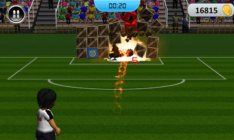 Soccer Penalty Shootout 2014- screenshot
